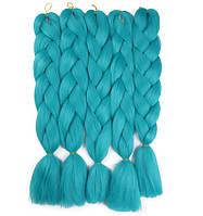 Канекалон для плетения кос морская волна 1,3 метра