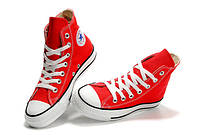 Кеды женские Converse Chuck Taylor All Star Hi Red