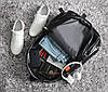 """Кожаный рюкзак унисекс """"QINGDA"""", фото 9"""