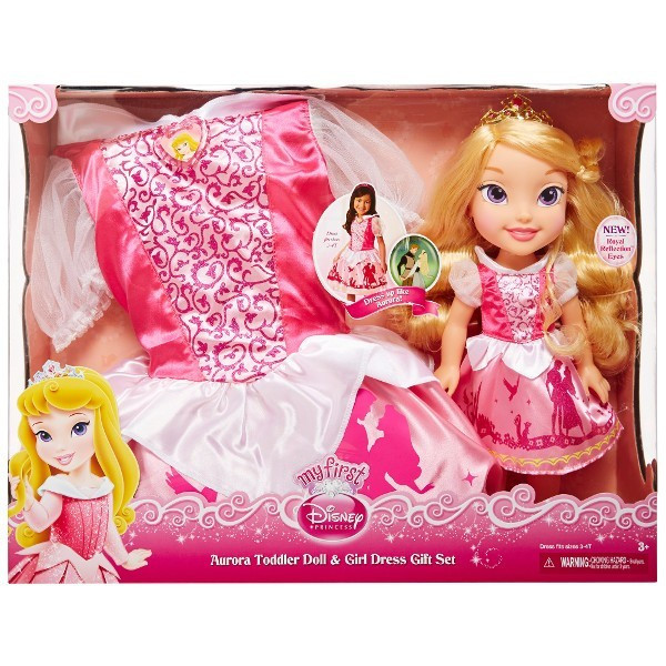 Кукла принцесса Аврора малышка с платьем Дисней Disney Princess Aurora Jakks Pacific 77029