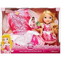 Кукла принцесса Аврора малышка с платьем Дисней Disney Princess Aurora Jakks Pacific 77029, фото 1