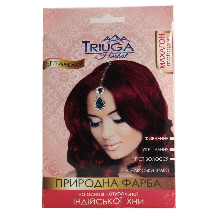 Природная краска для волос на основе хны — Махагон 25г.