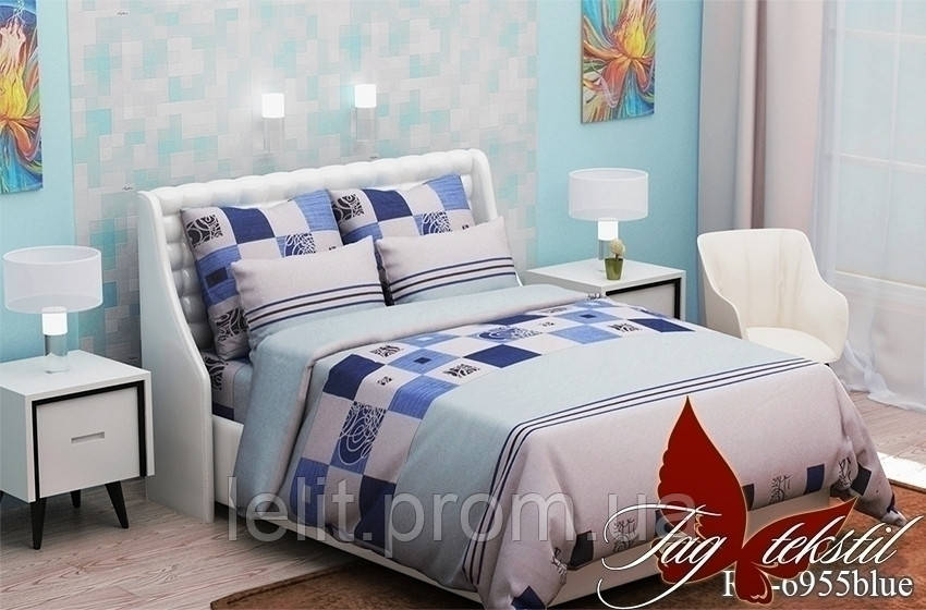 Полуторный комплект постельного белья RC6955blue