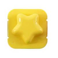 Фигурная формочка для вареных яиц и бенто Звездочка желтая