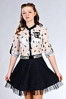 Юбка школьная Moschino для девочки