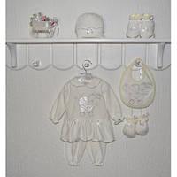 Комплект ясельный на девочку Лялечка Размер 56 - 62 см