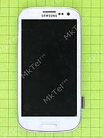 Дисплей Samsung Galaxy S3 i9300 с сенсором, панелью  TFT матрица Копия ААА Белый