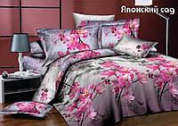 Семейный комплект постельного белья TAG Японский сад (с компаньоном)