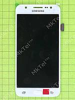 Дисплей Samsung Galaxy J5 SM-J500H с сенсором TFT матрица Копия ААА Белый