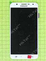 Дисплей Samsung Galaxy J7 J700H с сенсором TFT матрица Копия ААА Белый