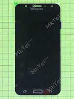 Дисплей Samsung Galaxy J7 J700H с сенсором TFT матрица Копия ААА Черный