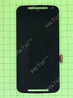 Дисплей Motorola Moto G (2nd. Gen) с сенсором Копия А Черный