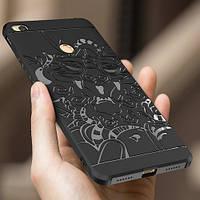 Чехол бампер для Xiaomi Mi Max 2 (Dragon style 3D)