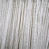 Шторы-нити кисея люрекс радуга 3мх3м белый