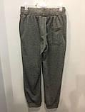 Подростковые спортивные штаны на манжете на мальчика 134,158 см, фото 3