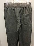 Подростковые спортивные штаны на манжете на мальчика 134,158 см, фото 4