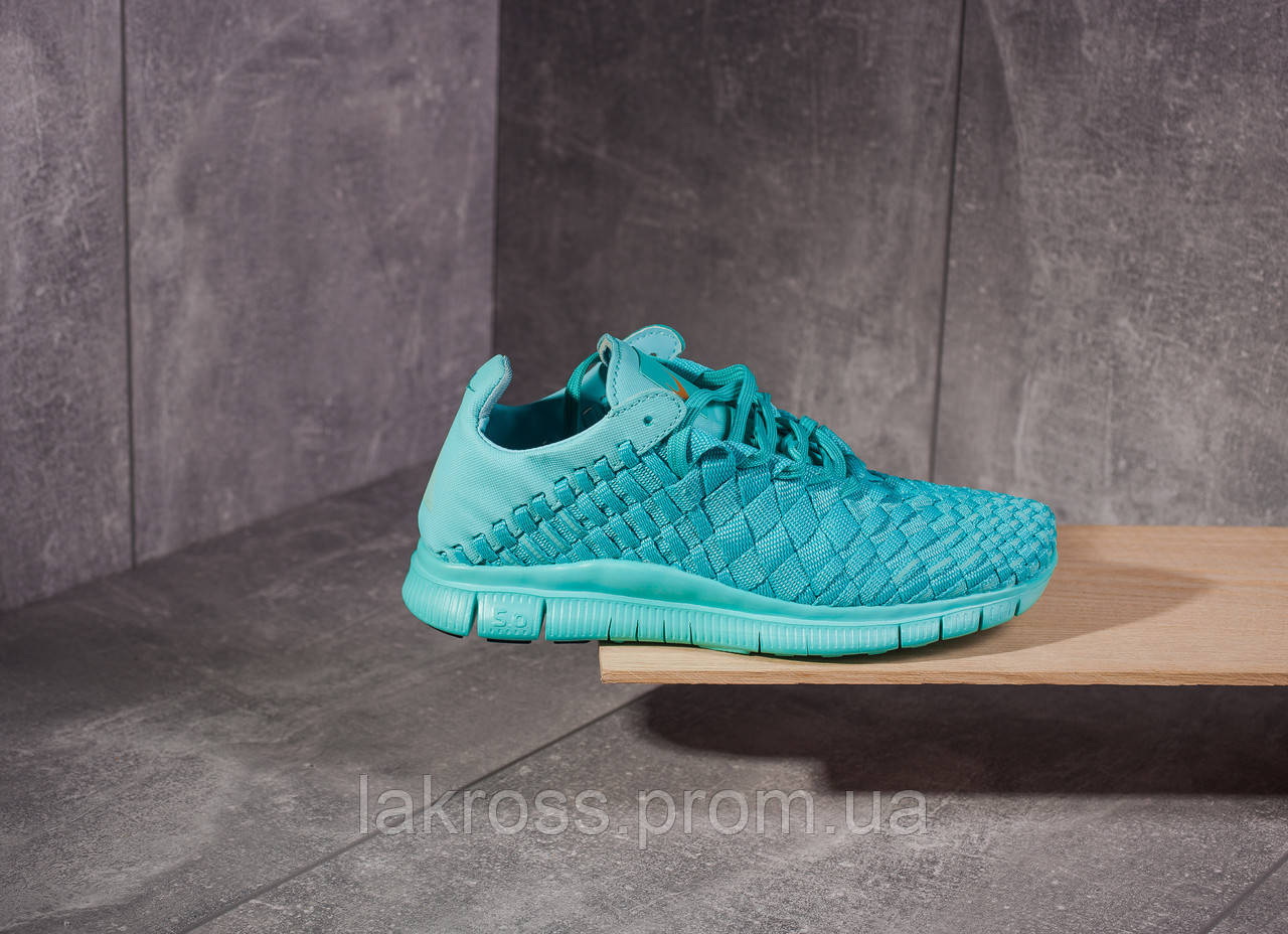 ad973b65 Кроссовки Nike Free Run Inneva Woven Blue (БИРЮЗА) ПОСЛЕДНИЕ РАЗМЕРЫ 36,37  СКИДКА