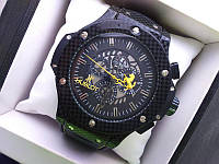 Часы Hublot Ferrari Black Yellow 111023 (копия)