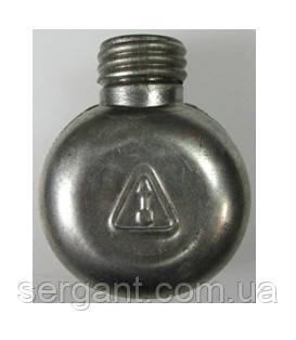 Маслёнка однокамерная одногорловая алюминиевая оригинальная для АК