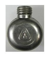 Маслёнка однокамерная одногорловая алюминиевая оригинальная для АК, фото 1