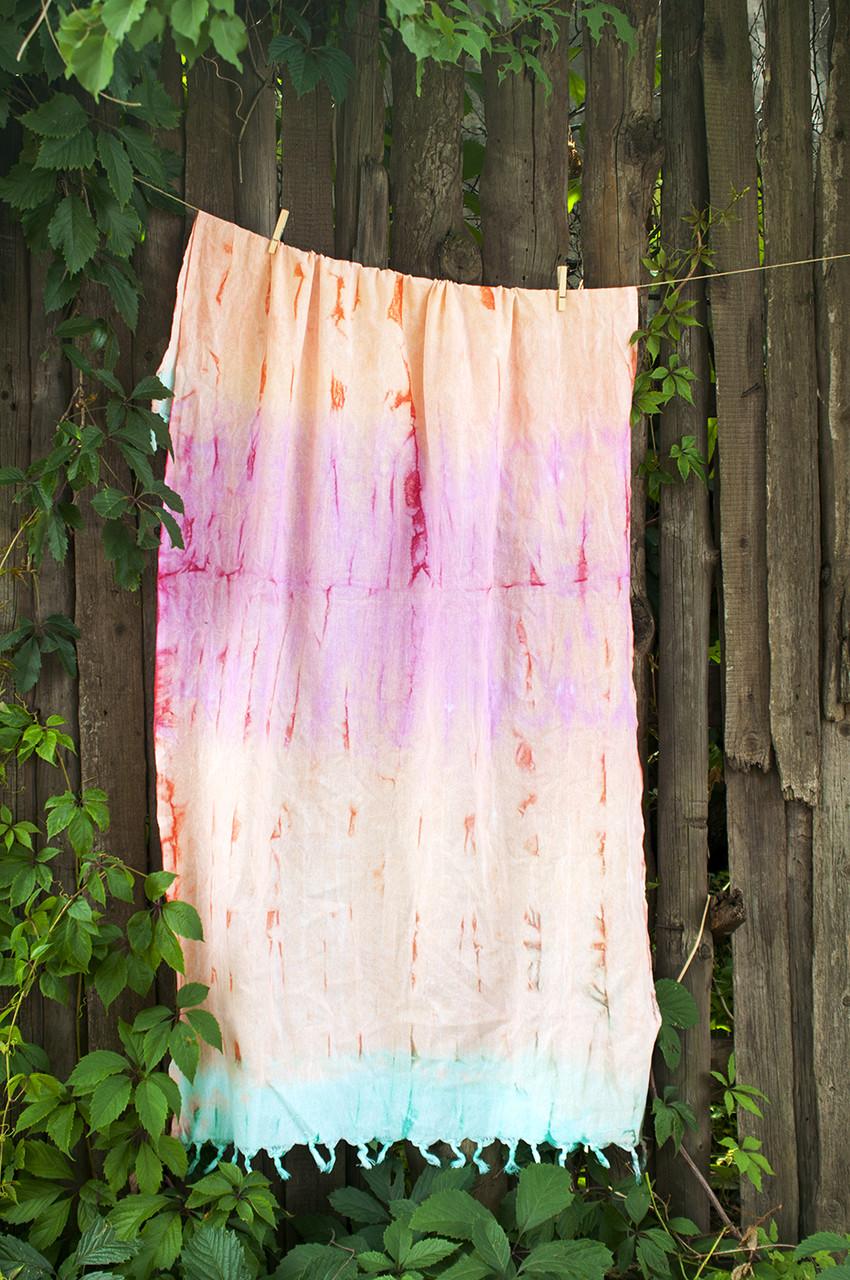 Полотенце-пештемаль пляжное Rainbow 90х170 Hippie Barine