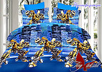 Комплект постельного белья 1.5 Трансформеры (ДП-transformers)