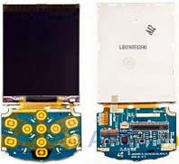Дисплей (экраны) для телефона Samsung Champ Deluxe C3310 с верхним клавиатурным модулем