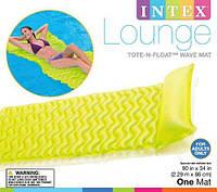 Intex 58807 Пляжный надувной матрас