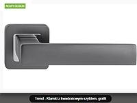 Дверная ручка Metal-bud Trend  графит