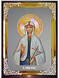 Икона с фоном под серебро Святая Агафья  в церковной лавке, фото 2