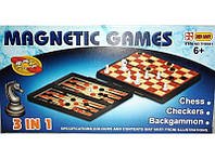 Набор 3-в-1: шахматы, шашки, нарды I5-34, настольные игры набор, деревянные шахматы шашки нарды