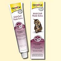 GimCat Malt-Soft Paste Extra паста для выведения шерсти и улучшения моторики желудка, 50г