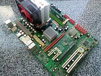 Комплект Мат. плата sAM3 + Athlon II X4, 3,1GHz + DDR3 4Гб
