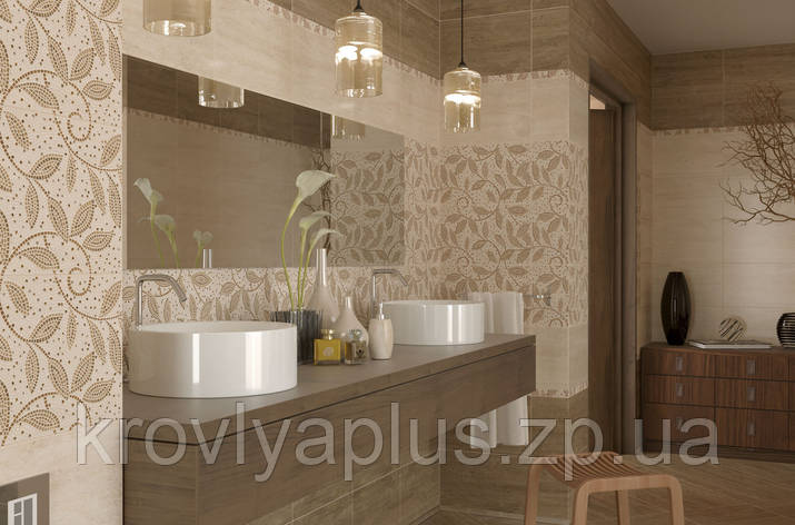 Golden Tile коллекция Травертин мозаика / Travertine Mosaic, фото 2