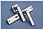 Дверная ручка Metal-bud Qubik  никель-сатин, фото 4