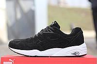 Мужские кроссовки Puma Trinomic, черно-белые