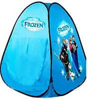 Палатка детская игровая для девочки Фрозен Frozen Холодное сердце