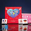 Шоколадный супер мини-набор ЛЮБЛЮ 9 шоколадок
