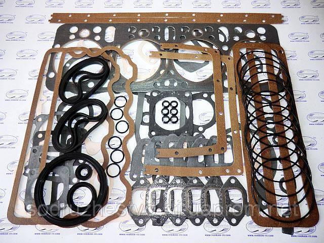 Набор прокладок для ремонта двигателя А-01 (полный комплект с РТИ)