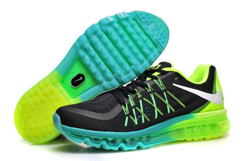 15a61b80 Кроссовки мужские Nike Air Max 2015 Green/Blue Реплика, цена 1 500  грн./пара, купить в Киеве — Prom.ua (ID#564933880)