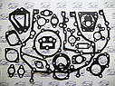 Набор прокладок для ремонта двигателя автомобиль КамАЗ (прокладка кожкартон TEXON) (малый набор), фото 2