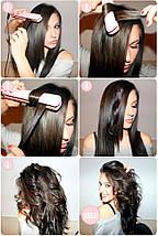 Утюжок GM 2957,Утюжок для выравнивая волос и гофре, фото 2
