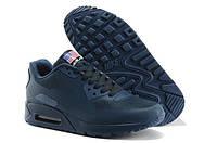 Кроссовки мужские Nike Air Max 90 Hyperfuse Navy Blue
