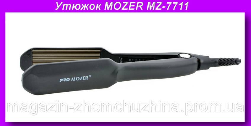 PRO MOZER MZ-7711 Гафрэ,Профессиональный утюжок гофре, фото 2