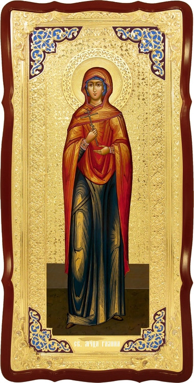 Храмовая икона в ризе Святая Галина в православном интернет магазине