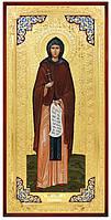 Икона большого размера в ризе Святая Евдокия в церковной лавке