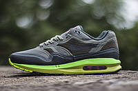 Кроссовки мужские Nike Air Max Lunar 1 WR Gray/Green Реплика