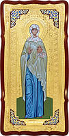 Храмовая икона в ризе Святая Иоанна мирносица в церковной лавке