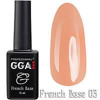 French Base GGA Professional № 3, 15мл