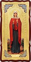 Храмовая икона в ризе Святая Иулиания Птолемаидская в православном магазине